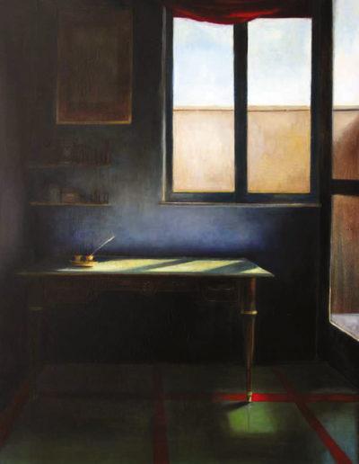 """Murat, """"l'architetto"""" olio su tela, 108×80 cm"""